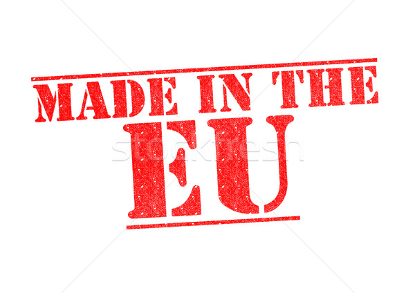 MADE IN THE EU Rubber Stamp Stock photo © chrisdorney