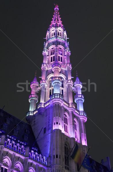 Stockfoto: Stad · hal · hotel · Brussel · toren