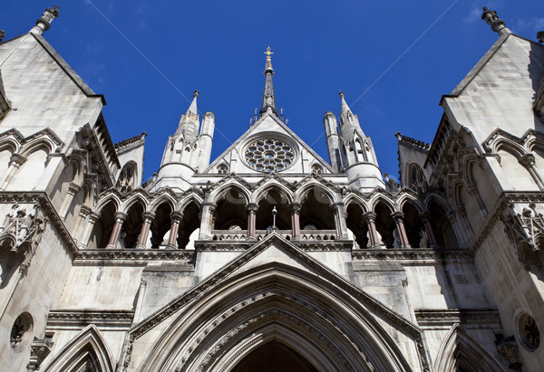 The Royal Courts of Justice in London Stock photo © chrisdorney