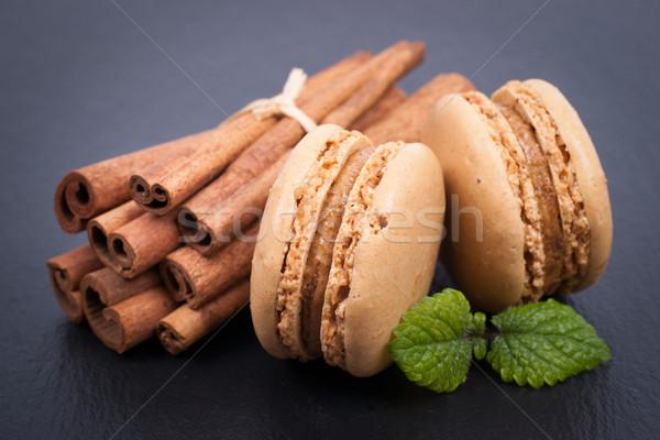 Cinnamon Macaroon Stock photo © ChrisJung