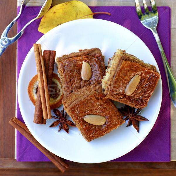 Ginger bread cake Stock photo © ChrisJung
