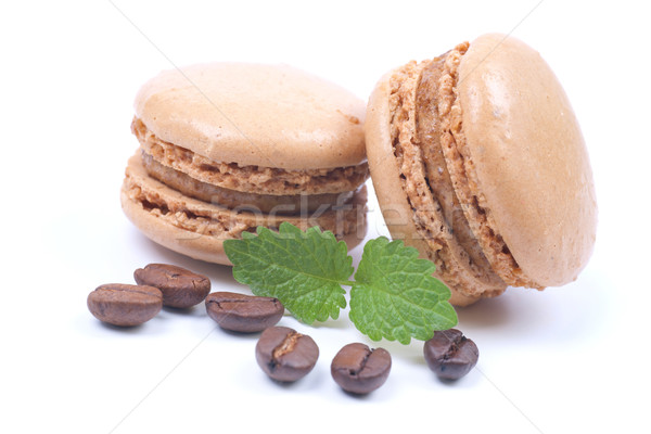 Coffee macaroon Stock photo © ChrisJung