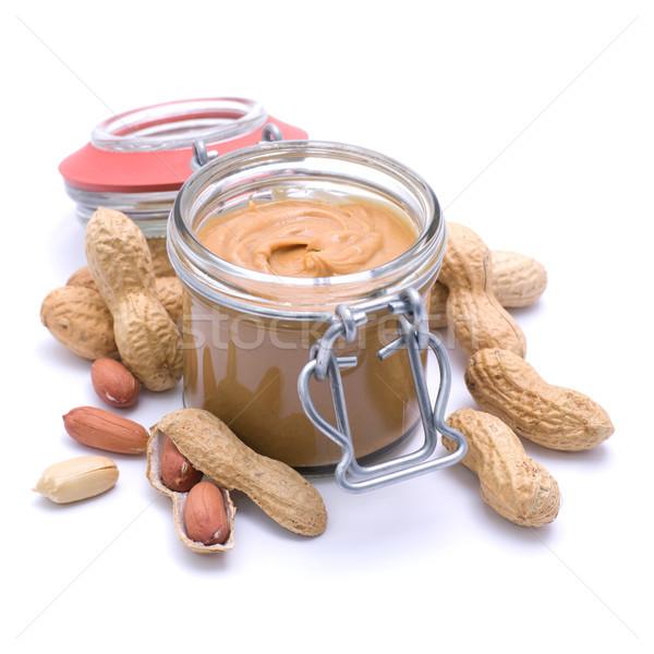 Burro di arachidi alimentare dolce raccolto nutrizione Foto d'archivio © ChrisJung