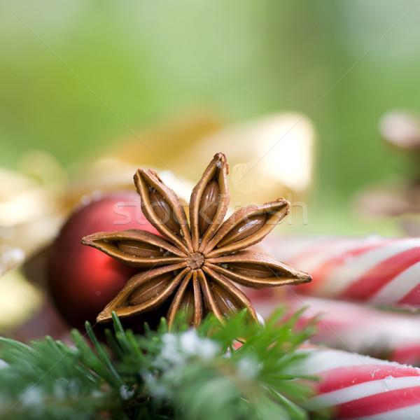 Estrela natal decoração celebração sentimento Foto stock © ChrisJung