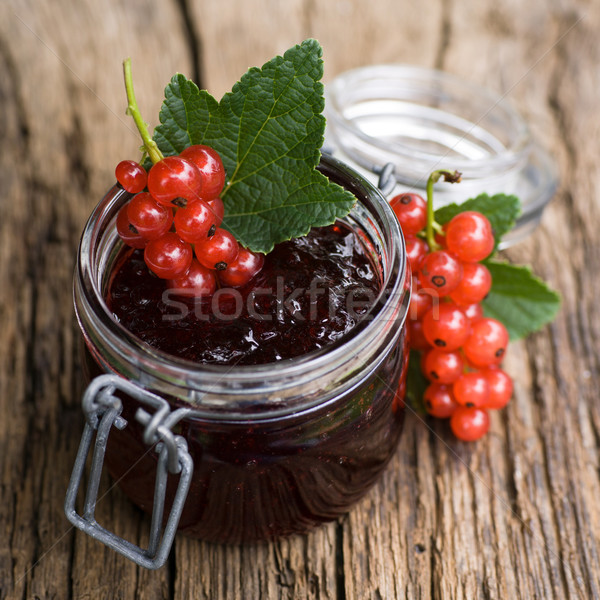 Redcurrant jelly Stock photo © ChrisJung