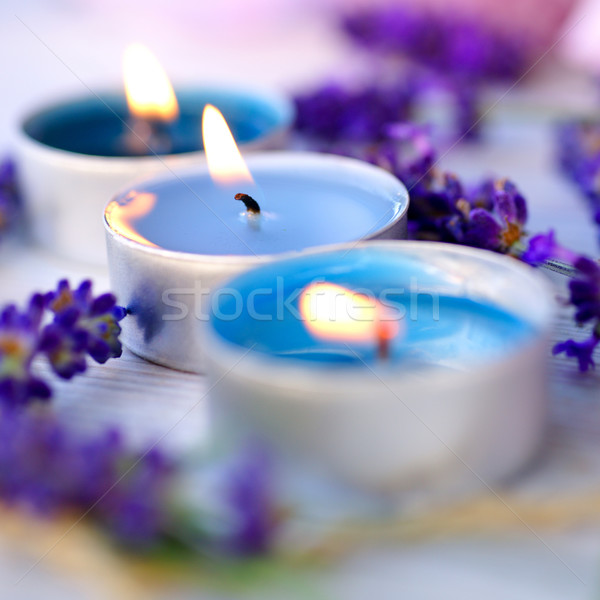 Perfumed candle Stock photo © ChrisJung