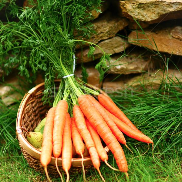 Carrots Stock photo © ChrisJung
