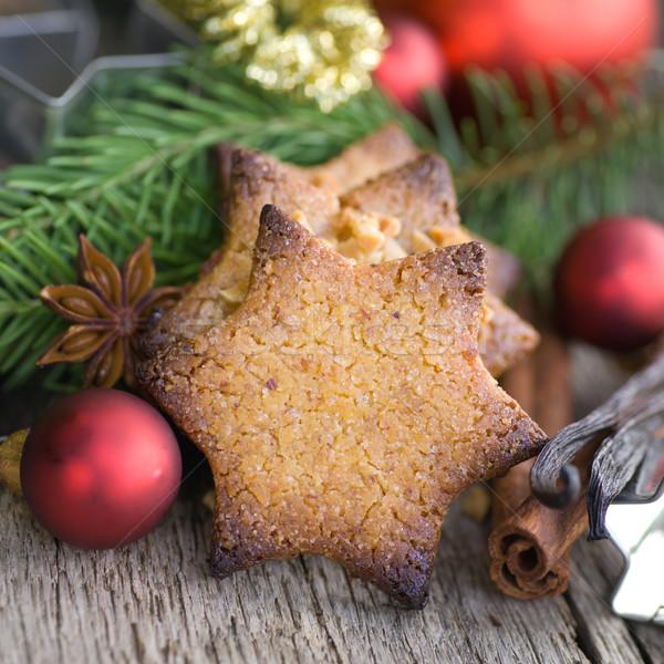 Cookies Noël décoration célébration sensation Photo stock © ChrisJung