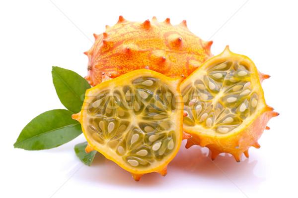 Horned melon Stock photo © ChrisJung