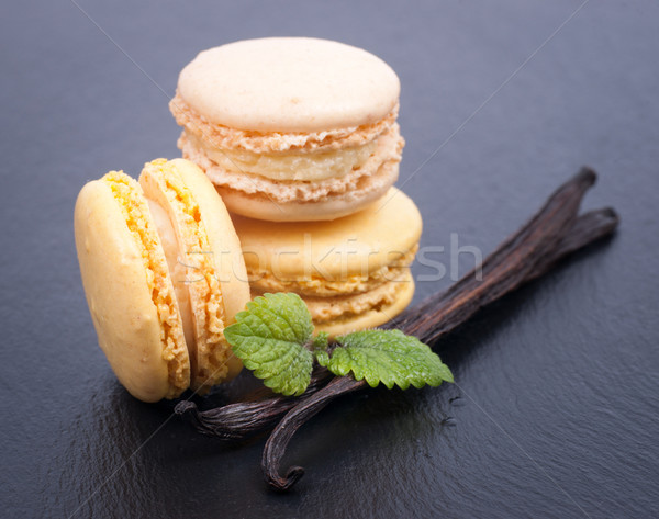 Vanilla Macaroon  Stock photo © ChrisJung
