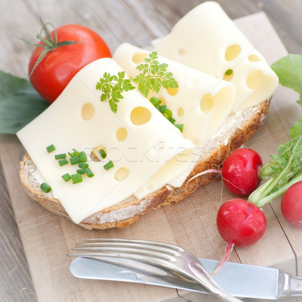 Pain fromages rustique Photo stock © ChrisJung