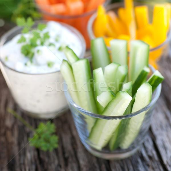 Nyers zöldségek friss Stock fotó © ChrisJung