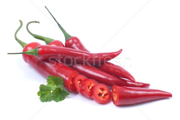Red chili pepper Stock photo © ChrisJung