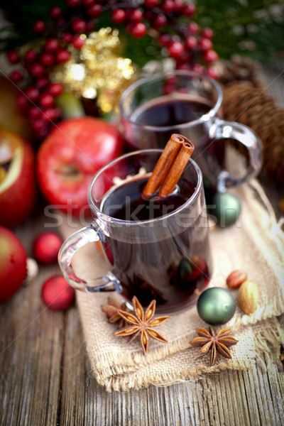 Hot spiced wine Stock photo © ChrisJung