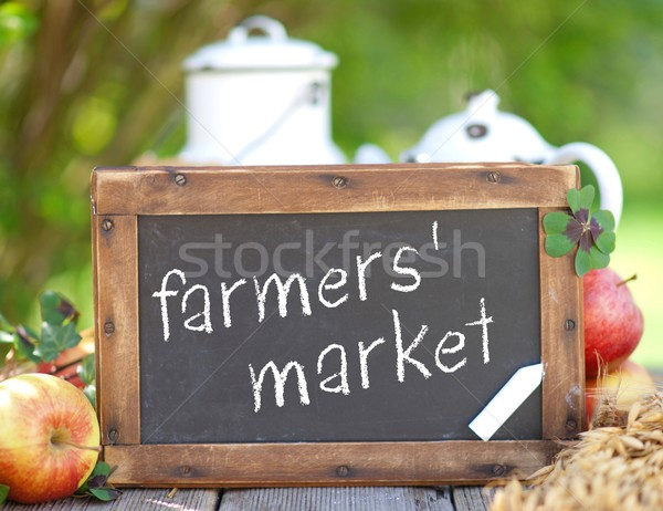 Farmers' market Stock photo © ChrisJung