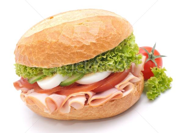 Fresh sandwich Stock photo © ChrisJung