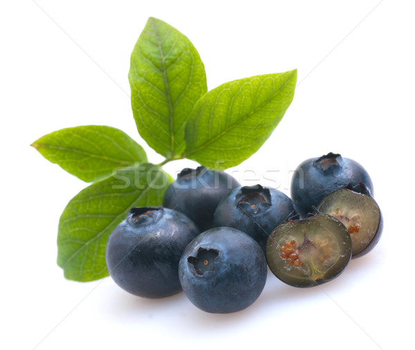 Blueberries Stock photo © ChrisJung