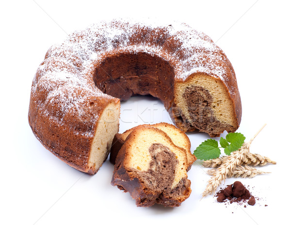 Marble cake Stock photo © ChrisJung
