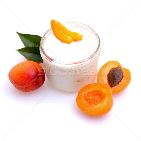 Yaourt fruits lait fruits nutrition Photo stock © ChrisJung