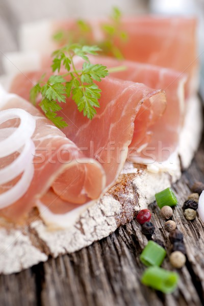 Cured ham Stock photo © ChrisJung