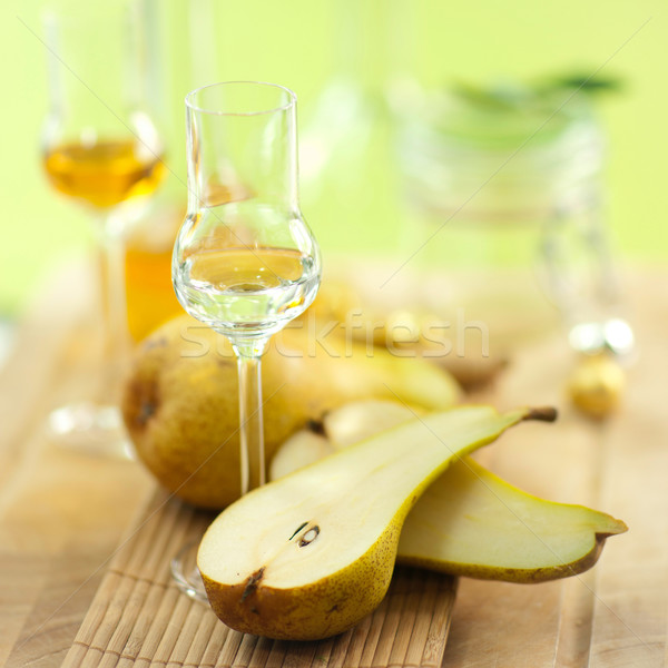 Pear schnapps Stock photo © ChrisJung