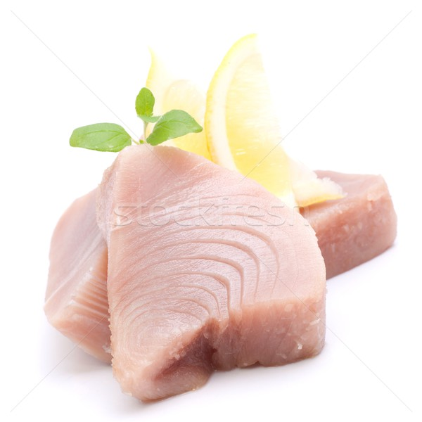 Stock photo: Fresh tuna