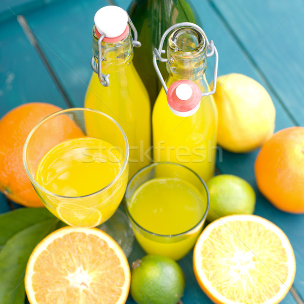 Orange juice Stock photo © ChrisJung