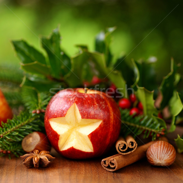 Christmas apple Stock photo © ChrisJung