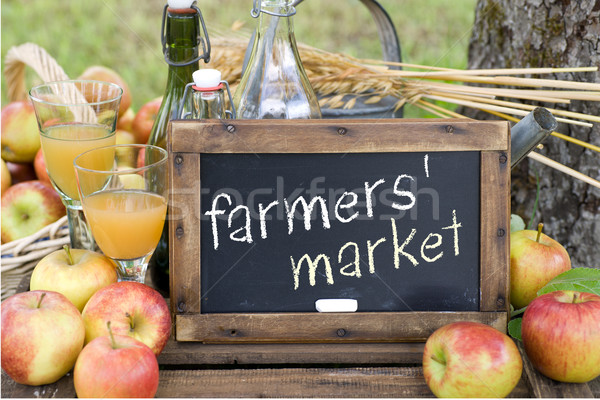 Famers market Stock photo © ChrisJung