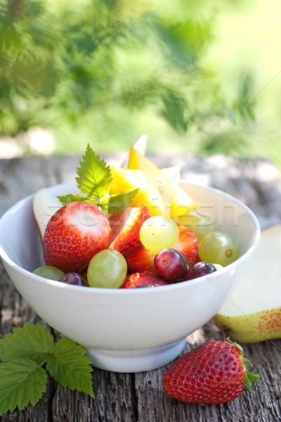フルーツサラダ 新鮮果物 サラダ 果物 デザート 新鮮な ストックフォト © ChrisJung