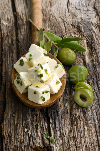 Feta Stock photo © ChrisJung