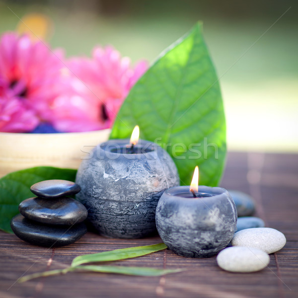 Perfumed candles Stock photo © ChrisJung