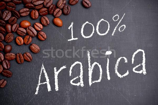 100% Arabica Stock photo © ChrisJung