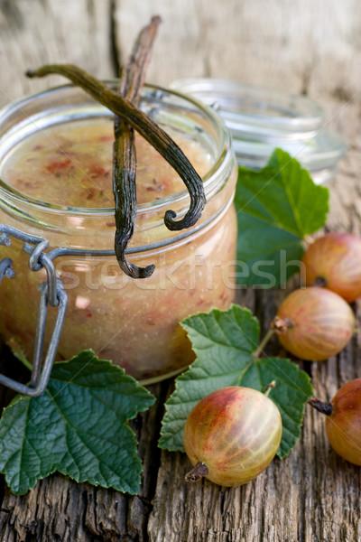 Reçel vanilya meyve meyve hasat Stok fotoğraf © ChrisJung