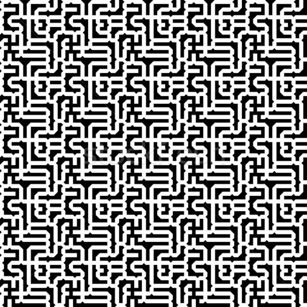 лабиринт текстуры строительство дизайна лист фон Сток-фото © chrisroll