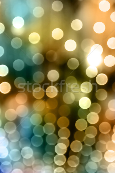 Abstract uit focus christmas lichten textuur Stockfoto © chrisroll