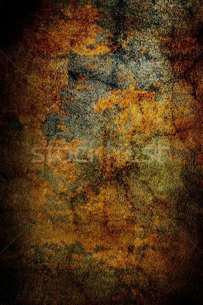 グランジ 古い 壁 テクスチャ 光 芸術 ストックフォト © chrisroll