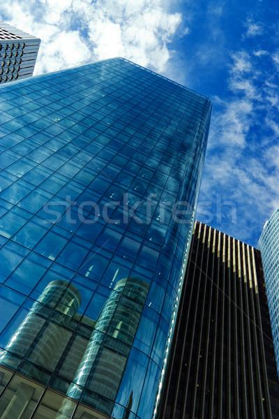 Gratte-ciel modernes ciel bleu Paris affaires ville Photo stock © chrisroll