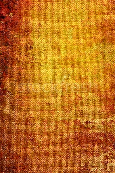 grunge hessian texture Stock photo © chrisroll