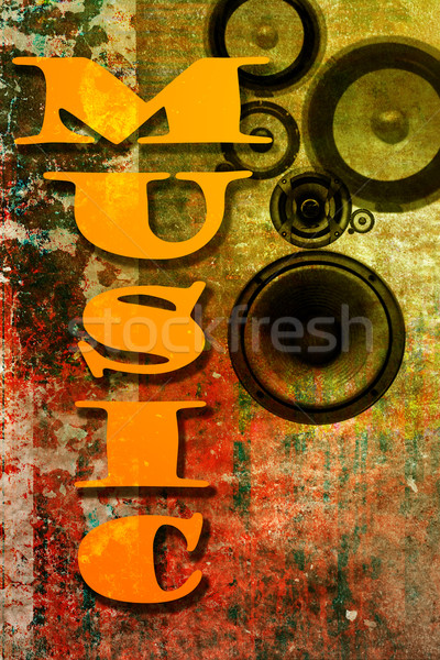 Music background Stock photo © chrisroll