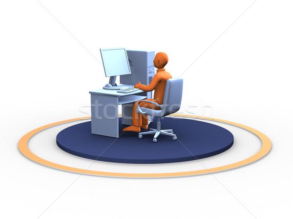 man at work Stock photo © chrisroll