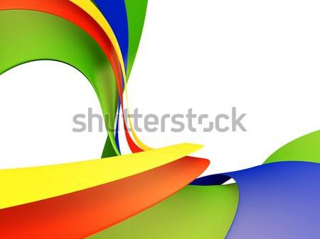抽象的な デザイン 青 速度 黒 ストックフォト © chrisroll