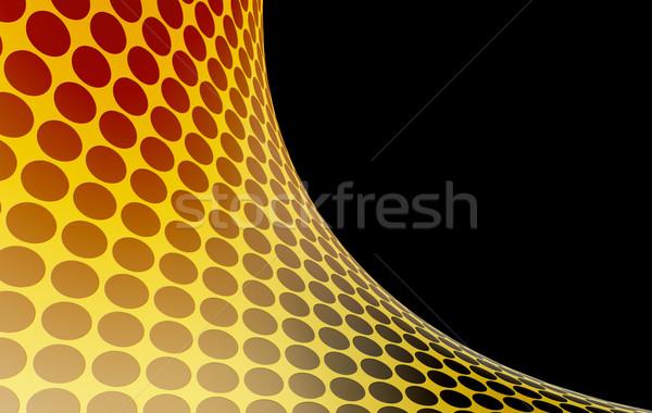 Absztrakt textúra fény festék üveg narancs Stock fotó © chrisroll
