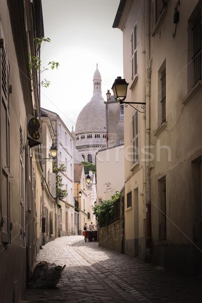 Sacré coeur Paris ville construction église Photo stock © chrisroll
