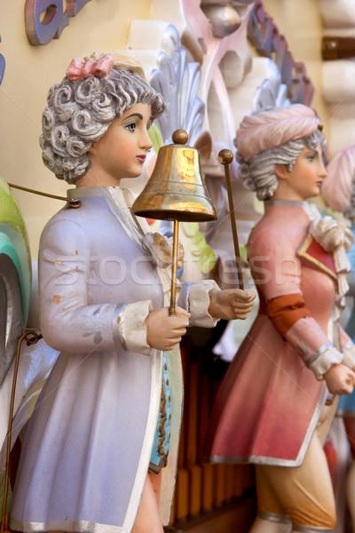 barrel or roller organ decoration Stock photo © chrisroll