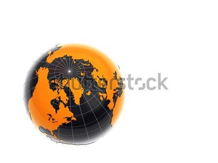 3D aislado blanco negocios Internet mundo Foto stock © chrisroll