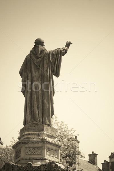 statue in dijon city Stock photo © chrisroll