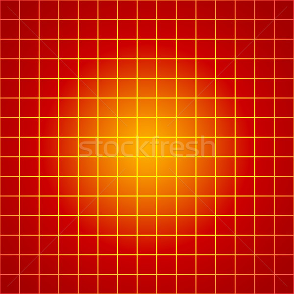 Red Grid Stock photo © chrisroll