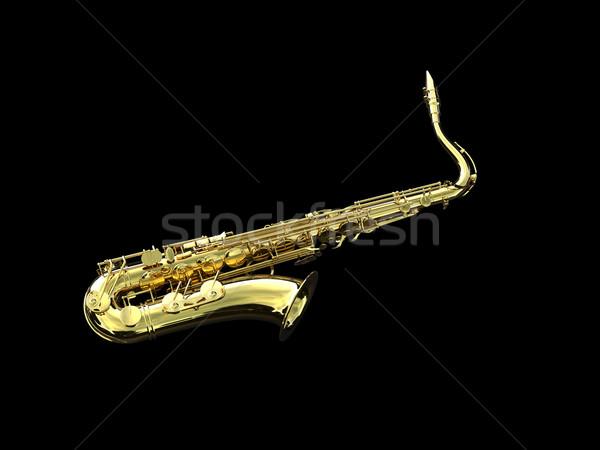 Saxophone Stock photo © chrisroll