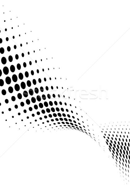 halftone background Stock photo © chrisroll